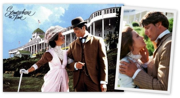 Somewhere in Time movie - Grand Hotel