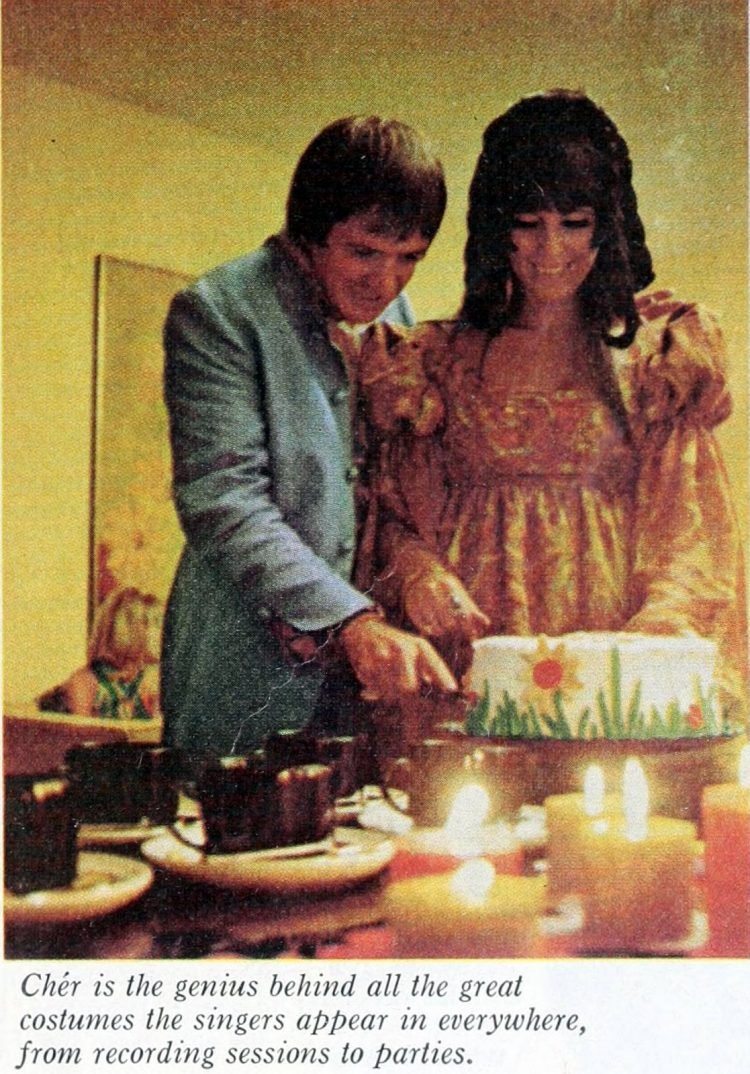 Sonny and Cher 3rd anniversary party - 1967 (4)