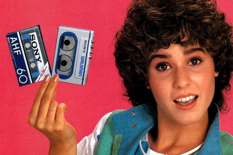 Sony Walkman with cassette