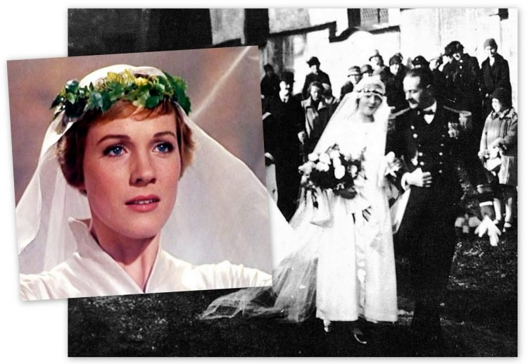 Sound of Music - Real maria wedding and Julie Andrews