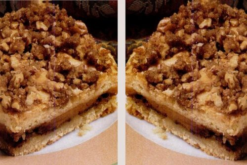 Sour cream pumpkin coffee cake & Pumpkin streusel swirl coffee cake retro recipes