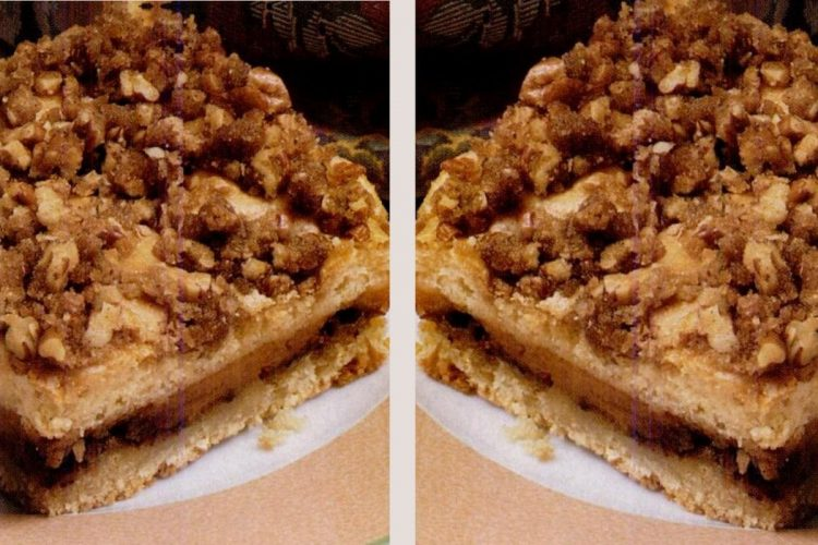 Sour cream pumpkin coffee cake & Pumpkin streusel swirl coffee cake retro recipes