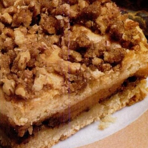 Sour cream pumpkin coffee cake