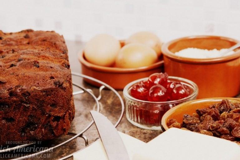 Southern fruitcake recipe (1921)