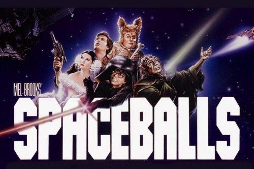 Spaceballs movie title