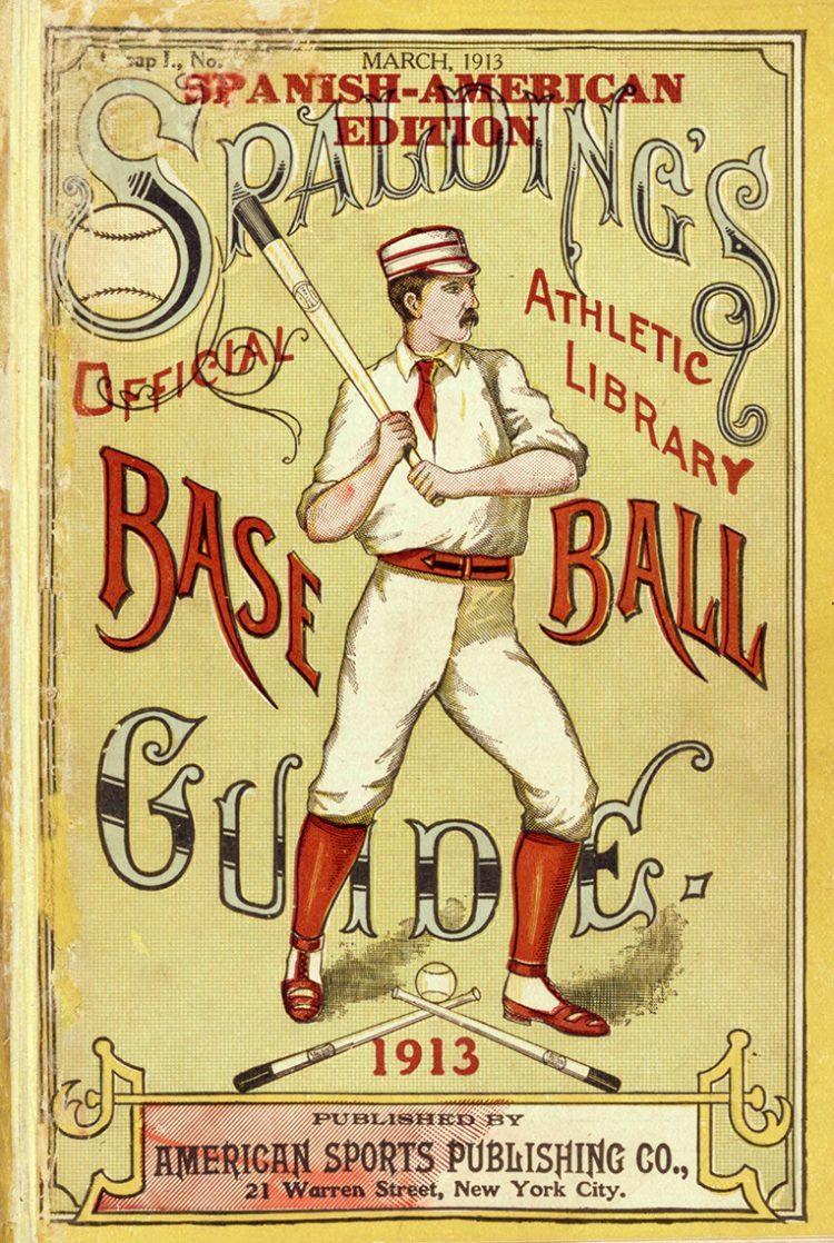 Spalding's Official Baseball Guide 1913