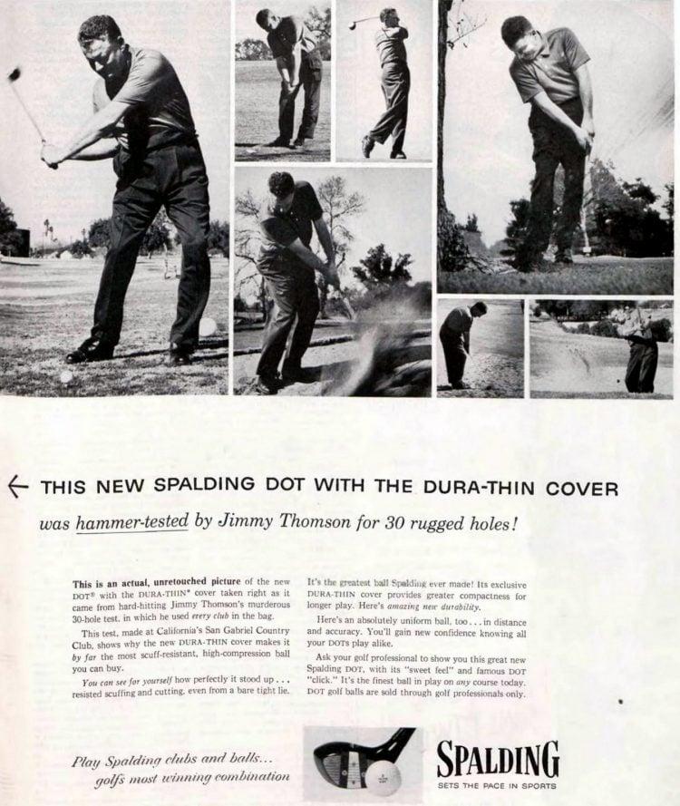 Spalding golf balls - 1955 (1)