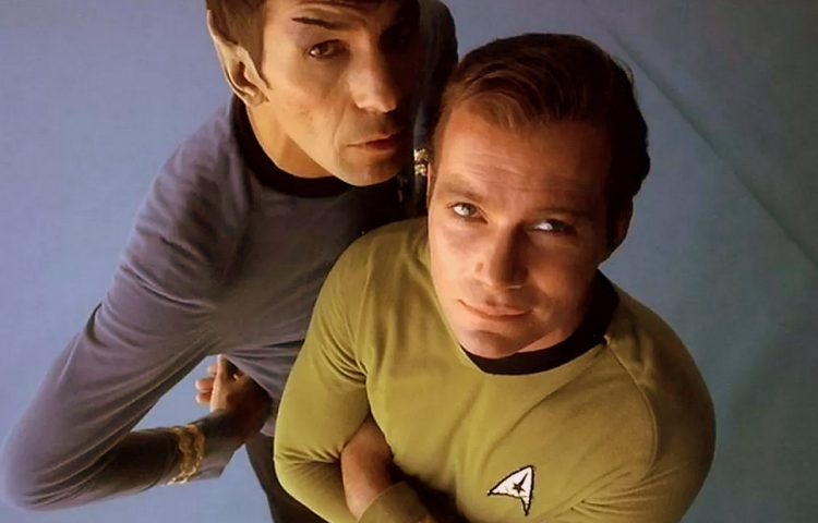 Spock and Kirk - Star Trek TOS