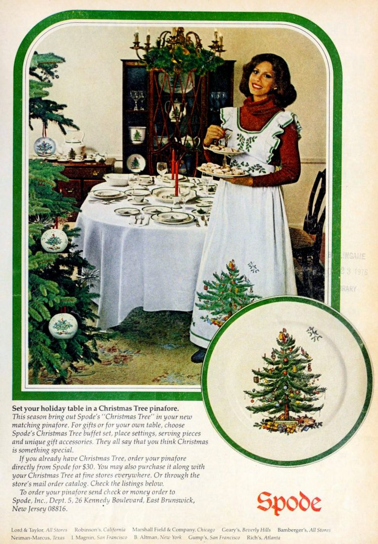 Spode Christmas plates from 1976