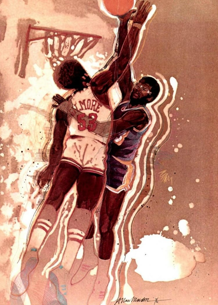 Sports Illustrated - Basketball 1976 (2)