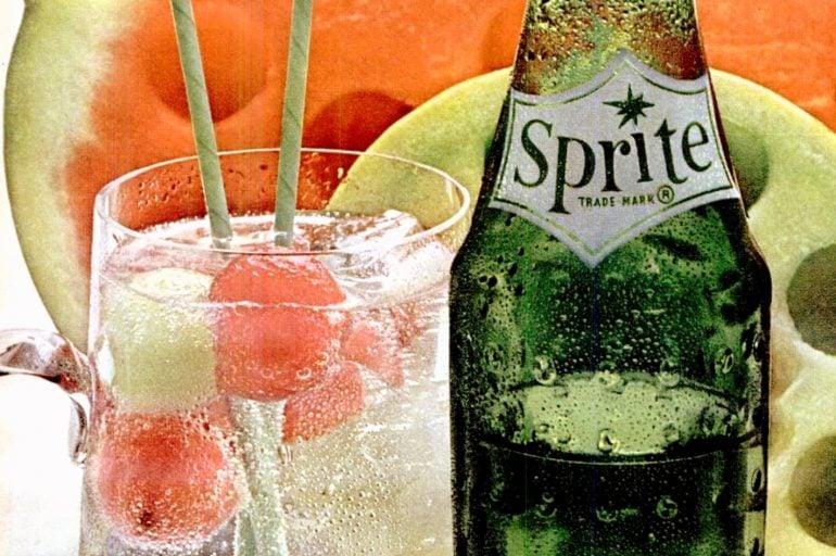 Sprite lemon-lime soda hit store shelves in the 1960s