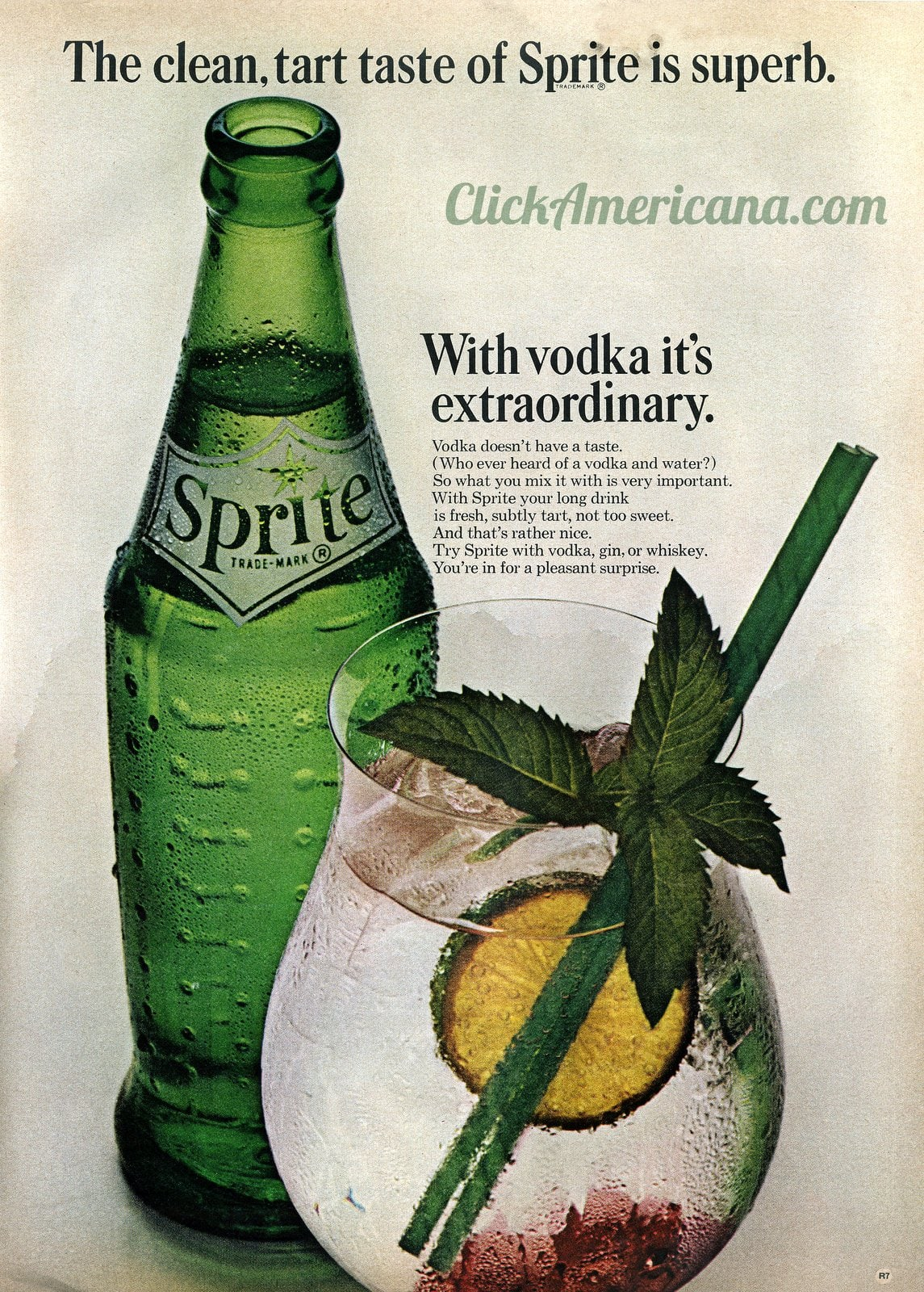 Sprite with vodka (1963)