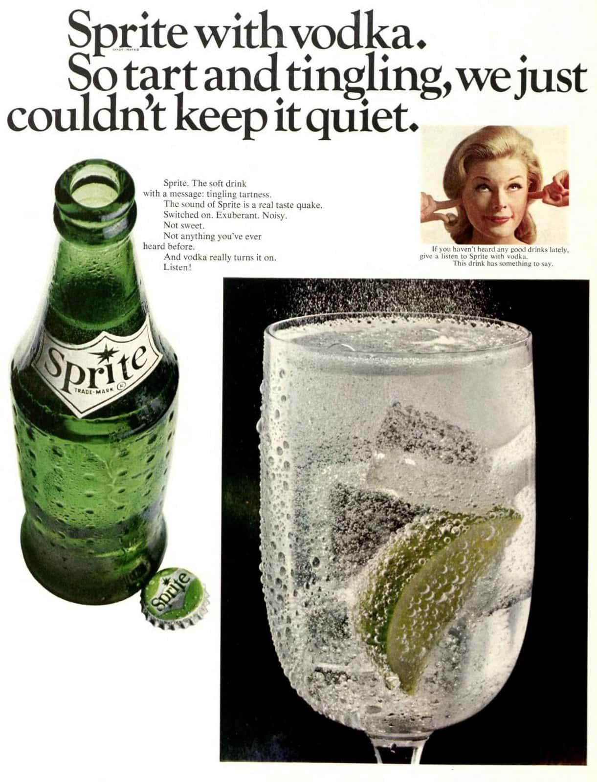 Sprite with vodka (1966)
