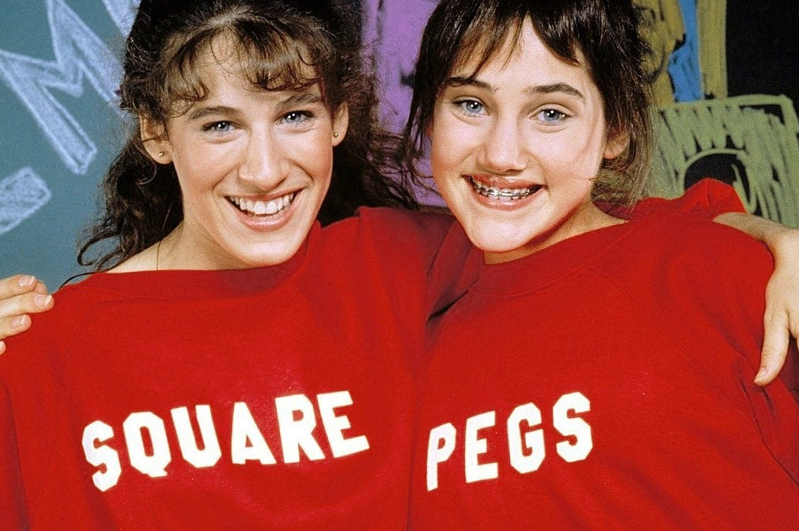 Square Pegs TV show stars