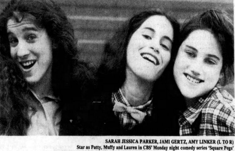 Square Pegs promo 1982 - SJP Jami Gertz Amy Linker - Patty Muffy Lauren