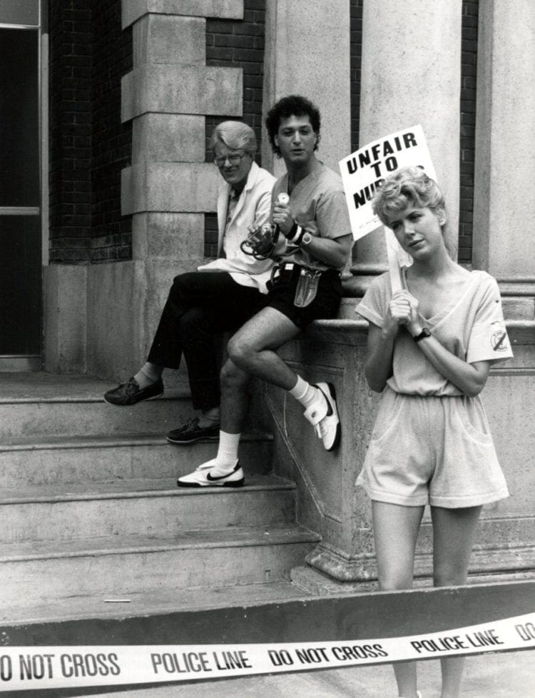 St Elsewhere Strikeout TV Episode 1984 Press publicity photo