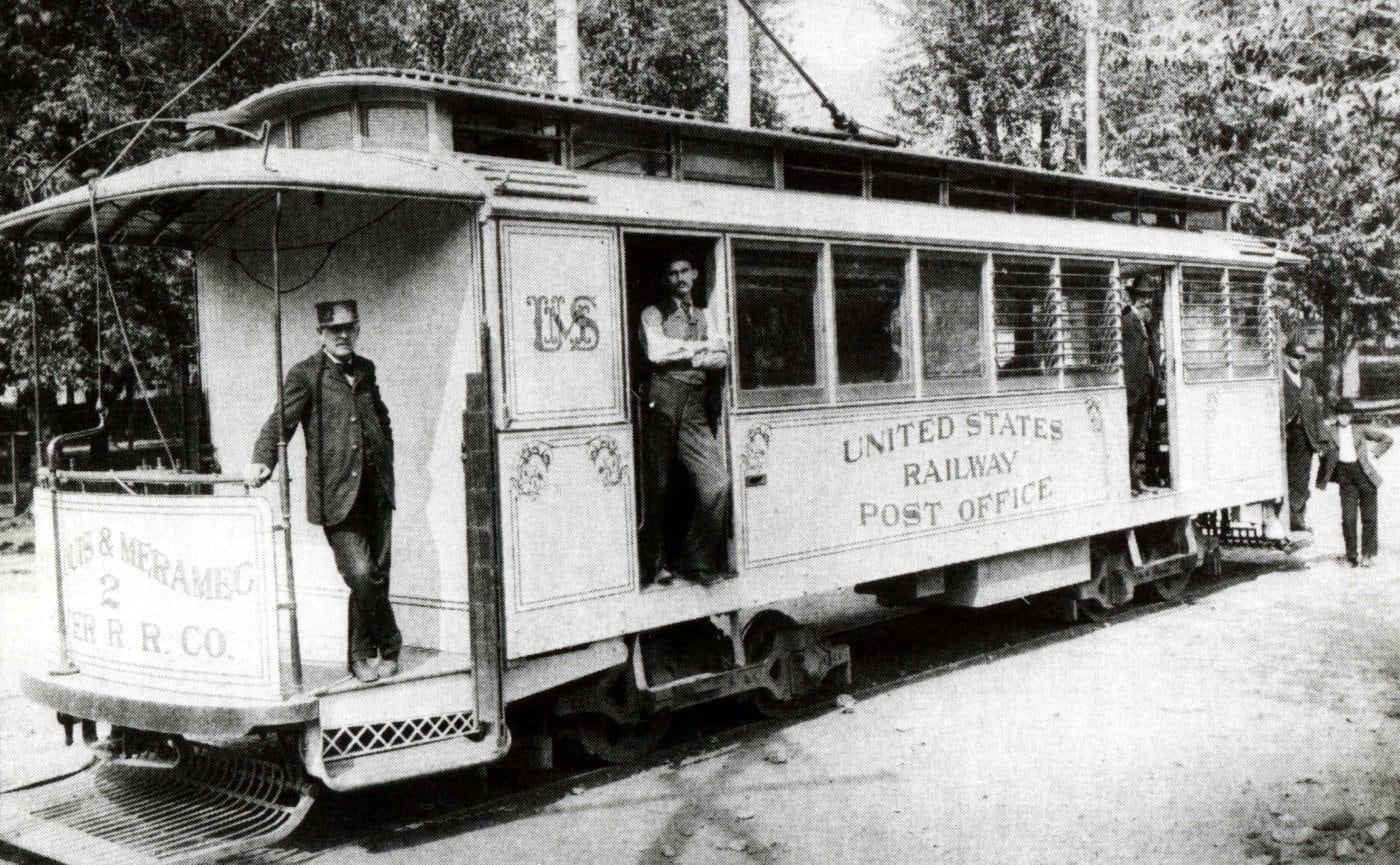 St. Louis, Missouri Mail Streetcar USPS 1896