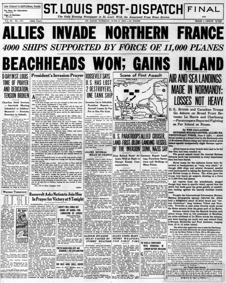 Allies Invade Northern France
