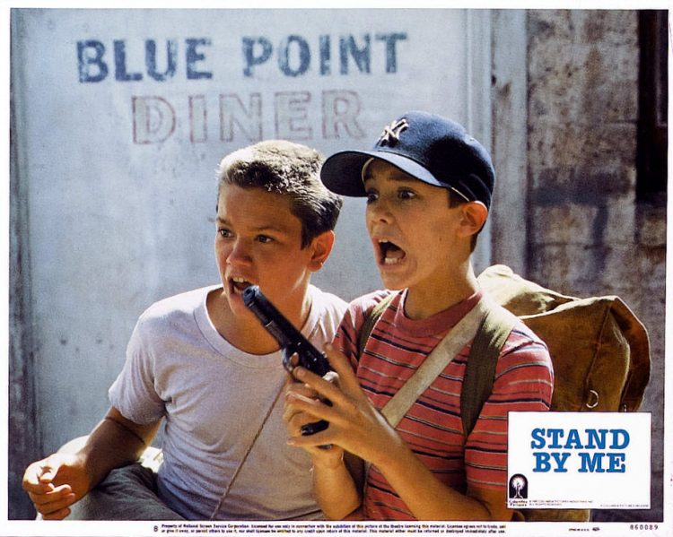 Stand By Me - Movie lobby card 1986