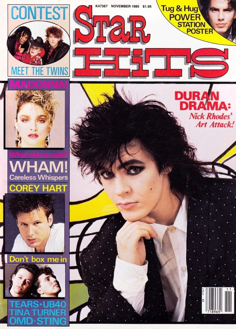 Star Hits 1985 - Nick Rhodes of Duran Duran