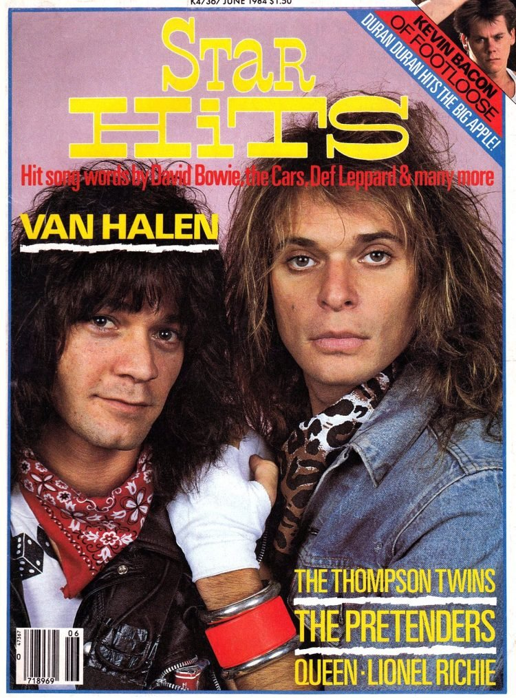 Star Hits magazine cover - 1984 - Van Halen