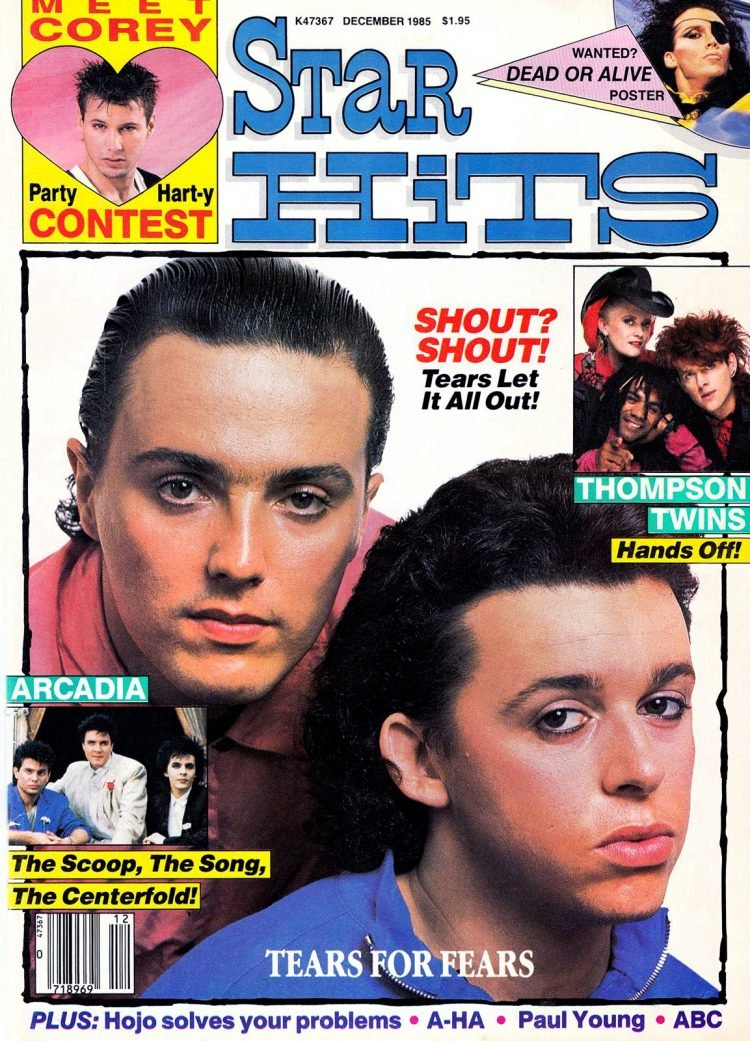 Star Hits magazine cover - 1985 - Tears for Fears