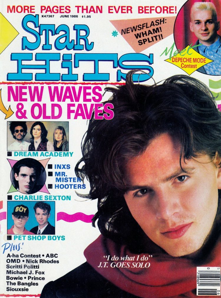 Star Hits magazine cover - 1986 - John Taylor