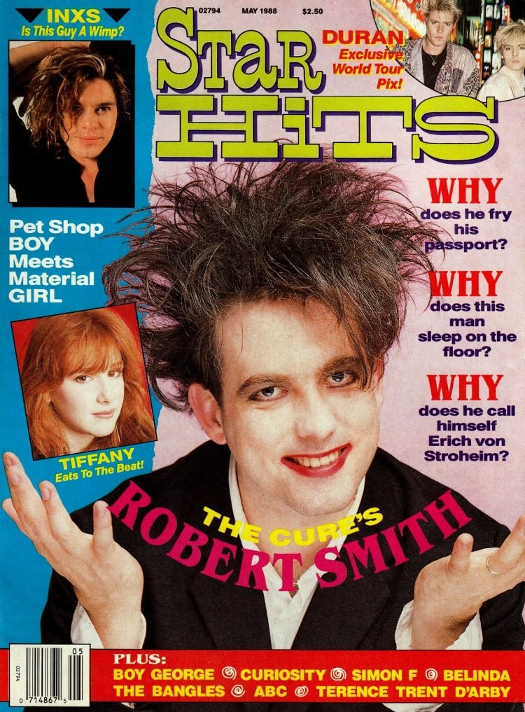 Star Hits magazine cover - 1988 - The Cure