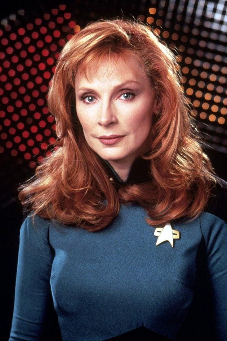 Star Trek TNG - Gates McFadden as Dr Beverly Crusher