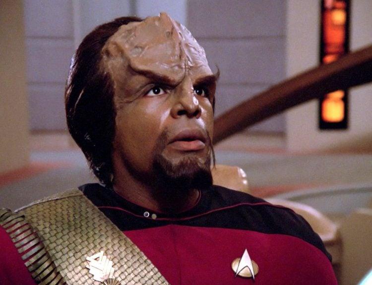 Star Trek TNG - Michael Dorn as Worf