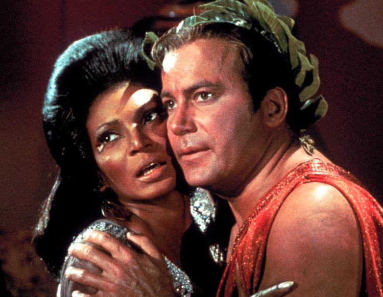 Star Trek Uhura and Kirk - Nichelle Nichols and William Shatner TOS - CBS