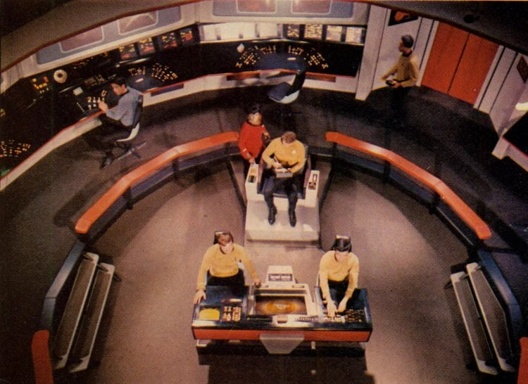 Star Trek, the Original Series - The bridge