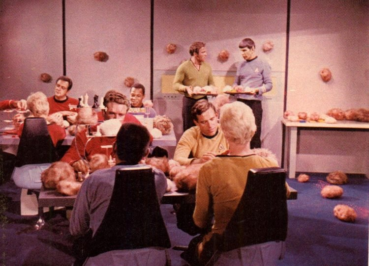 Star Trek, the Original Series episode scenes (4)