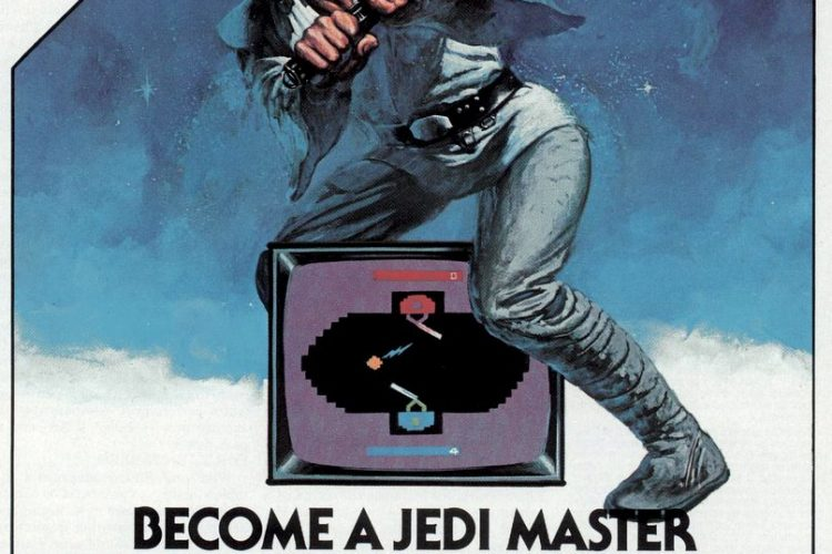 Star Wars Jedi Arena video game cartridge 1983
