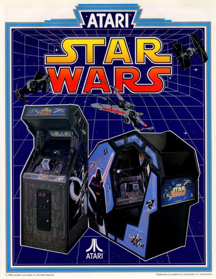 Star Wars arcade game 1983