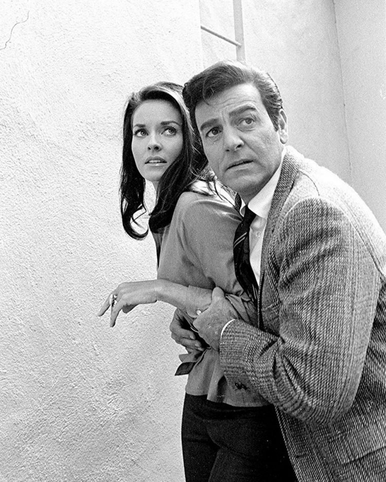 Stars on the vintage Mannix TV show from the 70s (3)