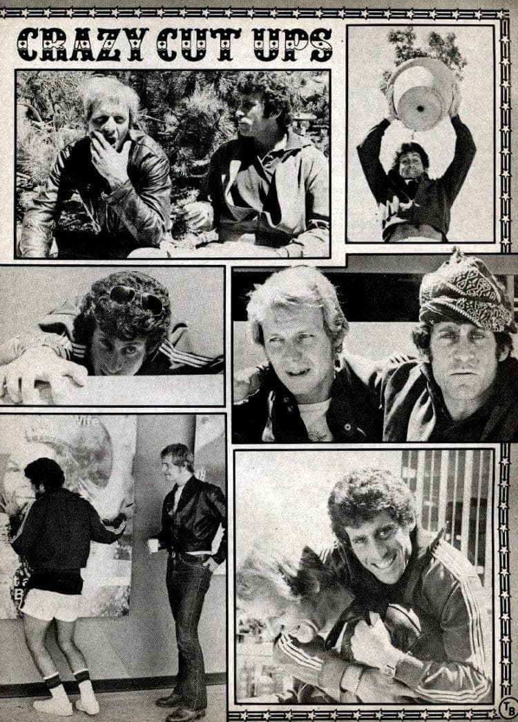 Starsky and Hutch teen magazine collage