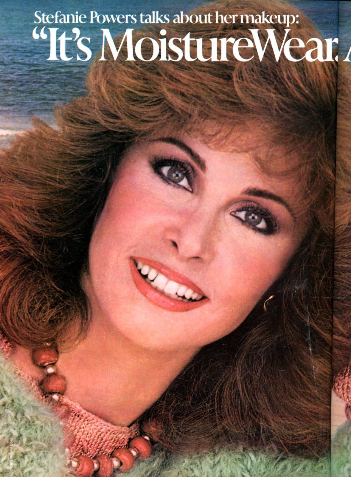 Stefanie Powers for Cover Girl (1982)