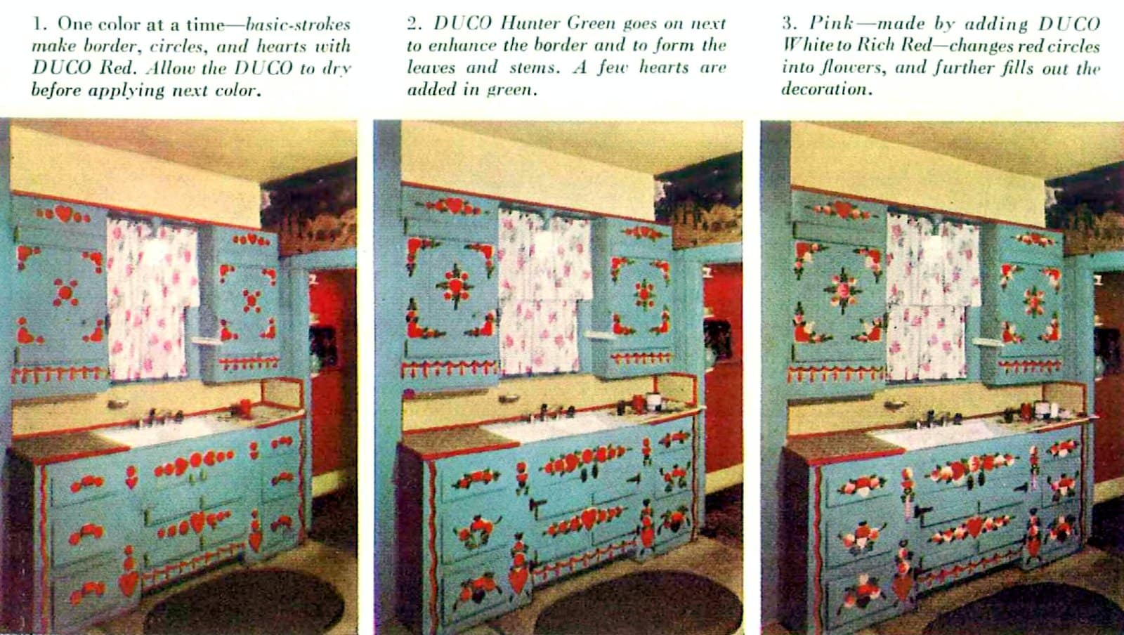 Step-by-step - Painting kitchen cabinets