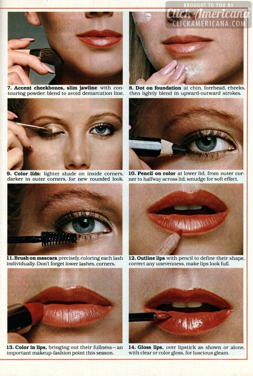Makeover Step By Step Guide To A New You 1978 Click