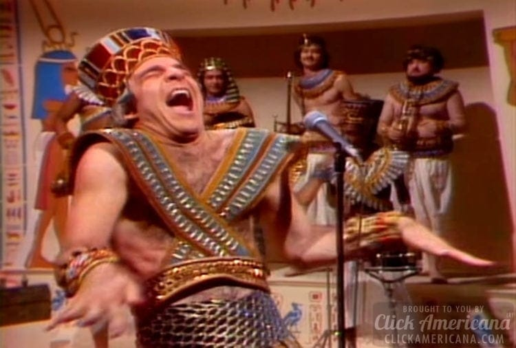 Steve Martin performs King Tut on SNL (1978)
