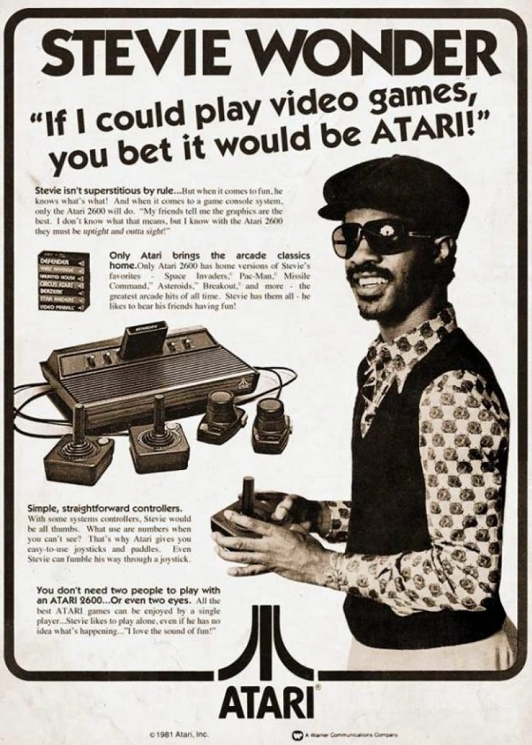 Stevie Wonder Atari - real or not