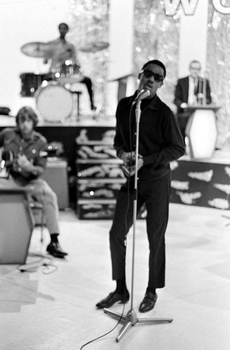 Stevie Wonder in the 1960s