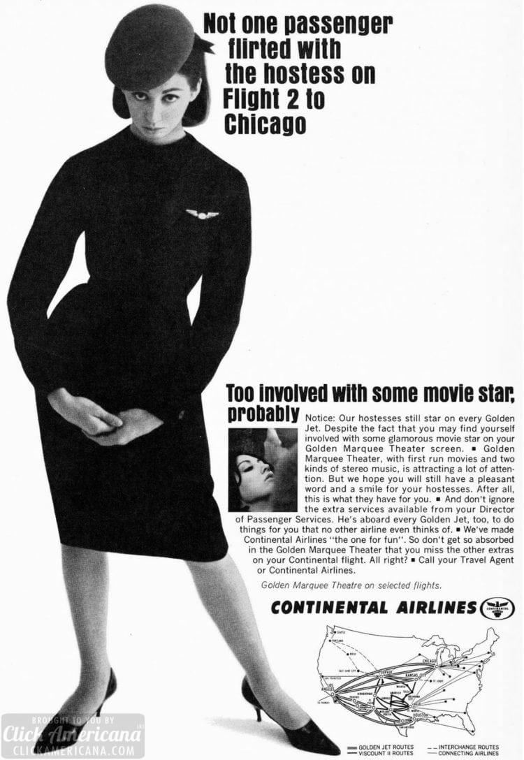 Stewardess - planes