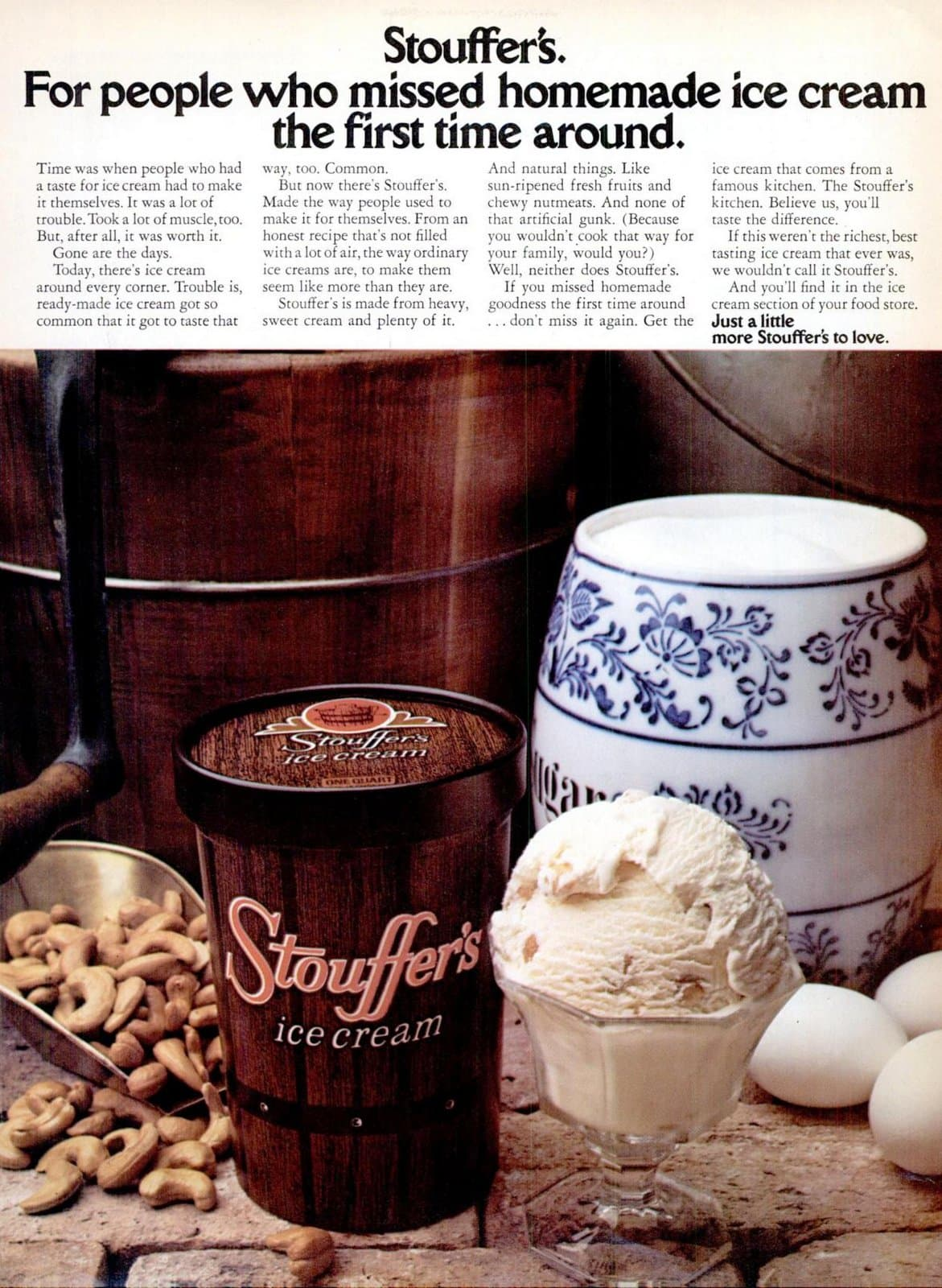 Stouffer's ice cream flavors from 1974 (1)