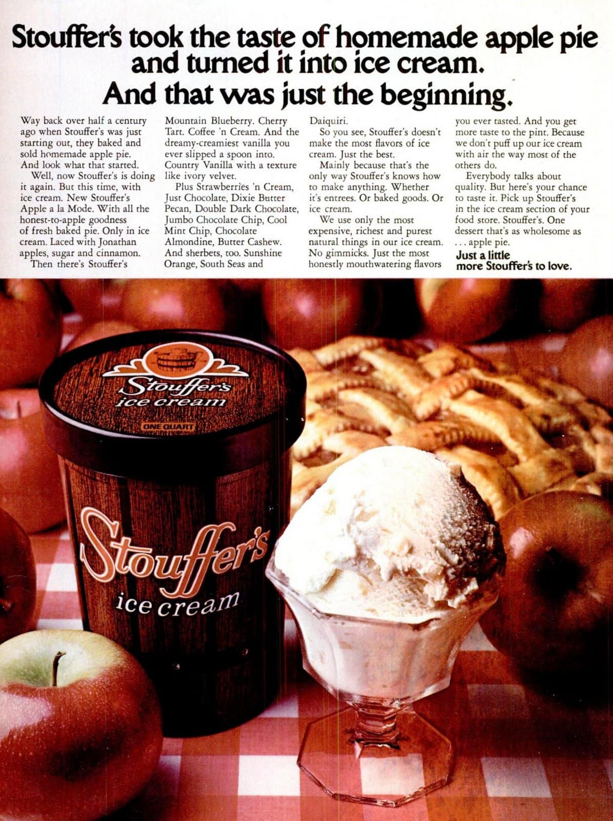 Stouffer's ice cream flavors from 1974 (2)