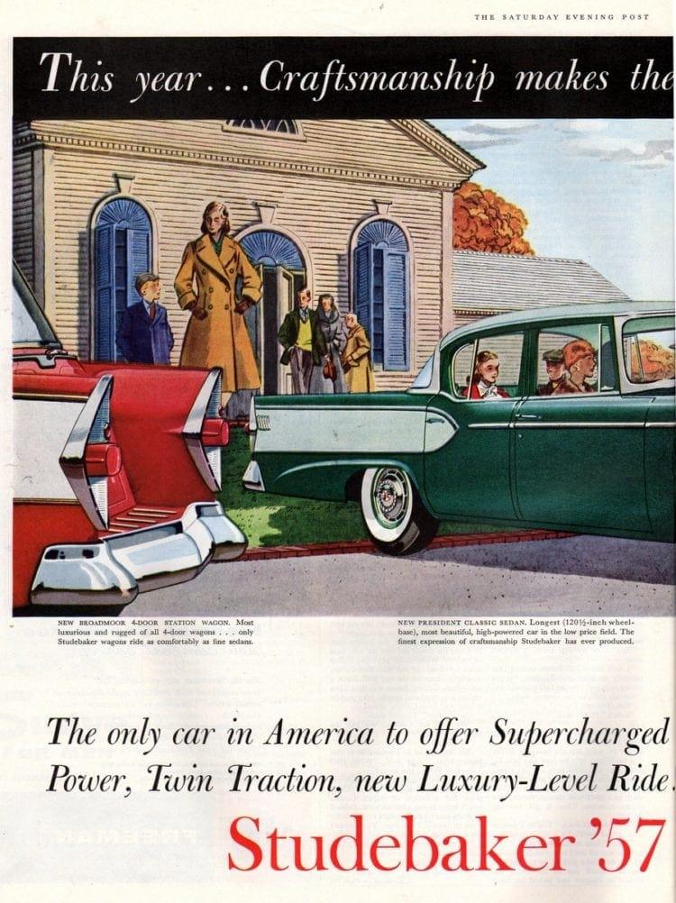 57 Studebaker classic car