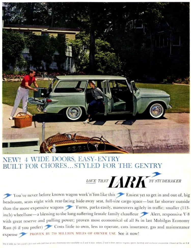 Studebaker Lark vintage station wagon car from 1959