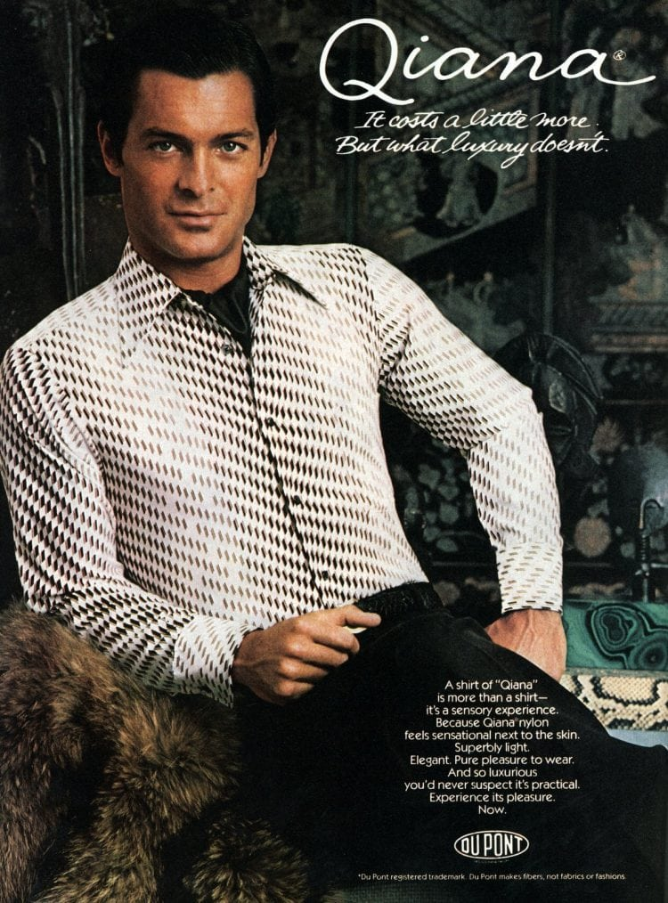 Stylish vintage clothes - shirts for men from 1977