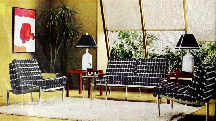 Stylish vintage sofas from the swinging seventies (1)